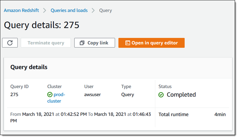 AQUA (Advanced Query Accelerator) – A Speed Boost for Your Amazon Redshift Queries
