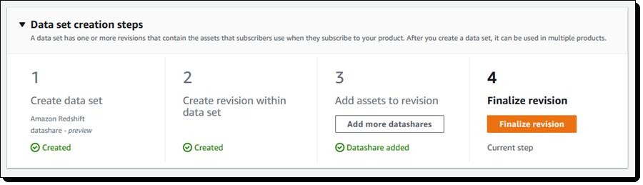 New – AWS Data Exchange for Amazon Redshift